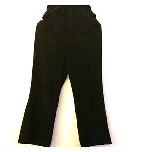 Motherhood black maternity dress pants-S